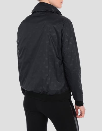 Women's packaway nylon rain jacket