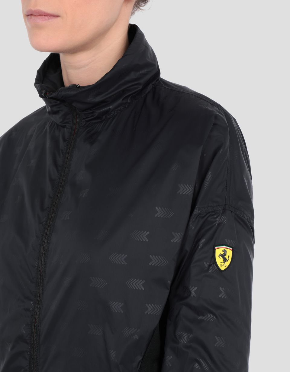 Scuderia Ferrari Online Store - Chubasquero plegable de nailon para mujer - Impermeables