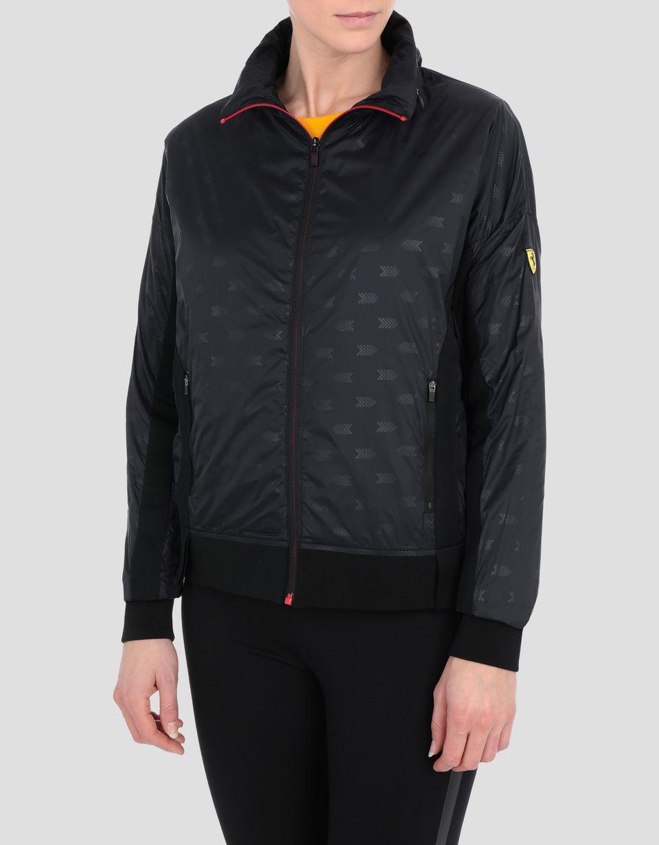 Scuderia Ferrari Online Store - Women's foldaway nylon jacket - Raincoats