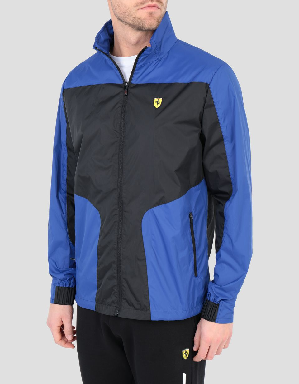 Scuderia Ferrari Online Store - Foldable men's jacket in water resistant fabric -