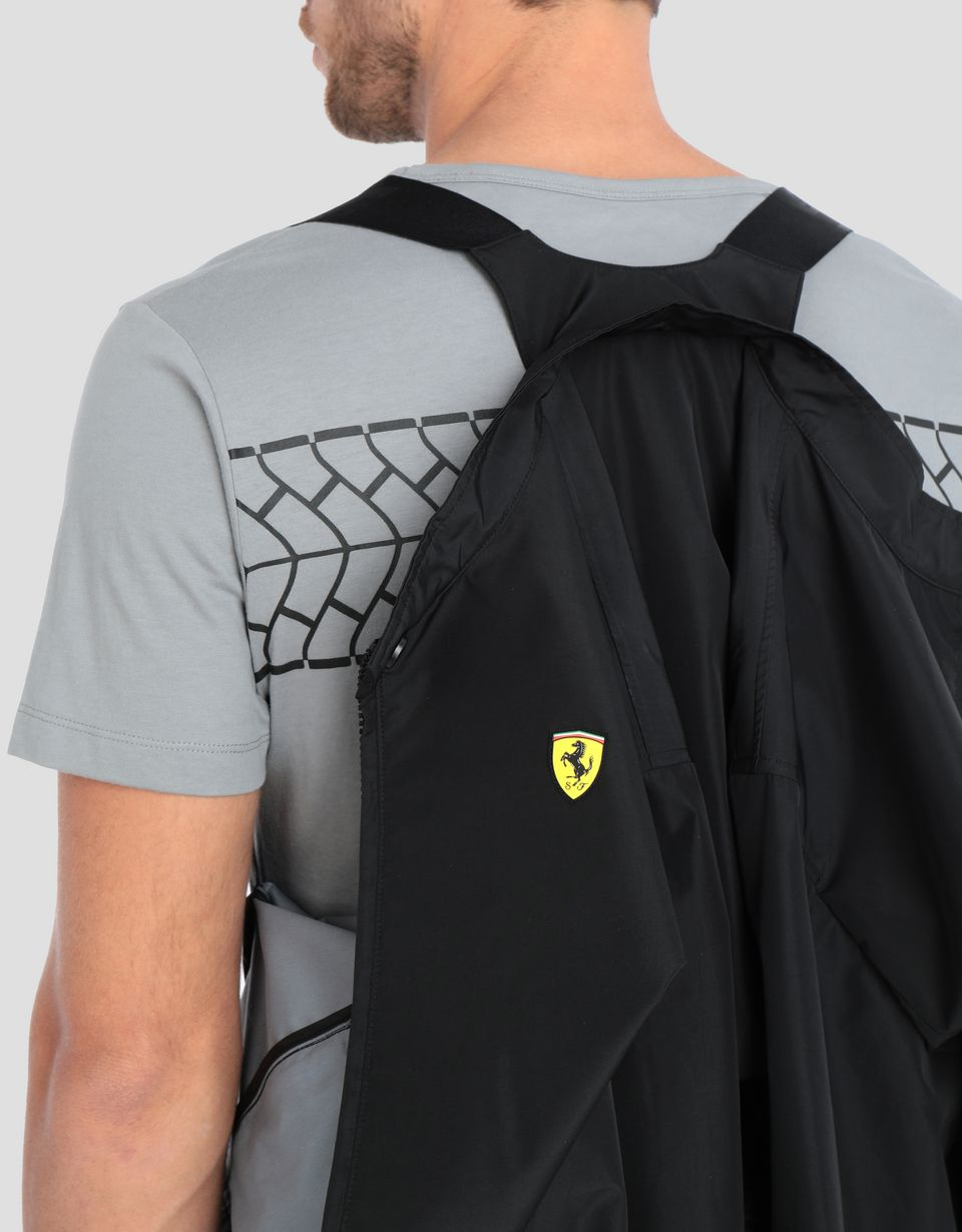 Scuderia Ferrari Online Store - Men's bomber jacket in three-layer technical fabric -