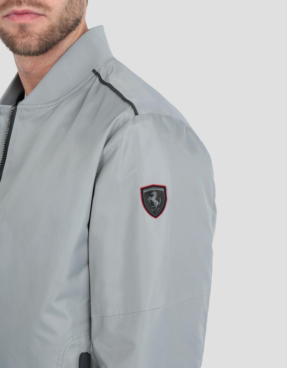 Scuderia Ferrari Online Store - Scuderia Ferrari men's bomber jacket - Bombers & Track Jackets