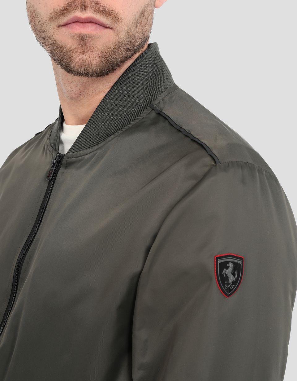 Scuderia Ferrari Online Store - Men's Scuderia Ferrari bomber jacket - Bombers & Track Jackets