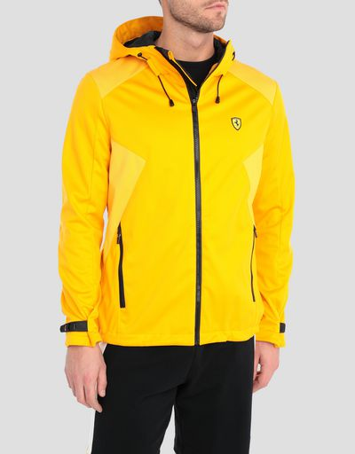 Men's Softshell jacket with hood