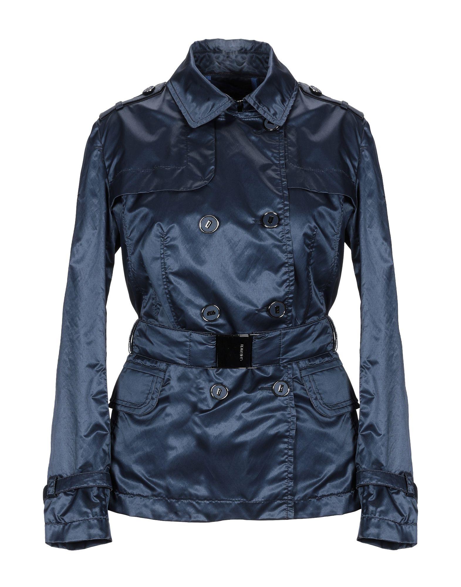 GEOSPIRIT Overcoats in Blue