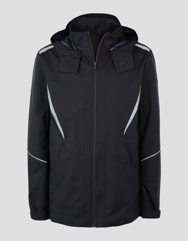 41b09f0e1ea4 ... Scuderia Ferrari Online Store - Scuderia Ferrari men s jacket in T2  TECH-TWILL - Bombers ...