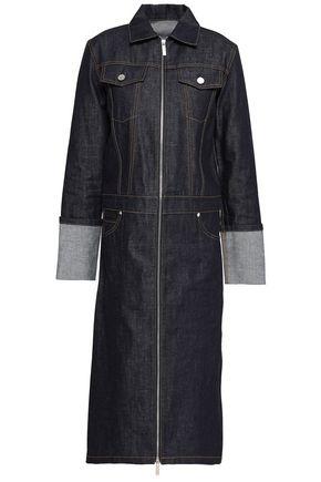 HELMUT LANG Denim trench coat