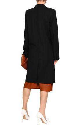 HELMUT LANG Wool-blend twill coat