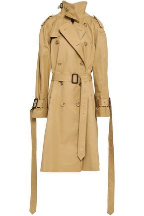 VETEMENTS Cotton-gabardine trench coat