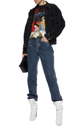 McQ Alexander McQueen Lace-up denim jacket