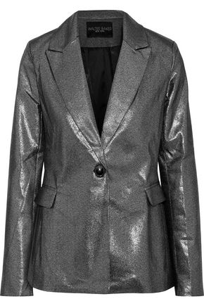 W118 by WALTER BAKER Elena metallic cotton-blend blazer