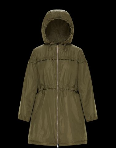 MONCLER LUXEMBOURG - Long outerwear - women