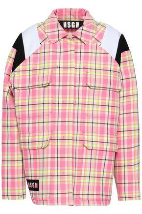 MSGM Printed cotton-blend twill jacket