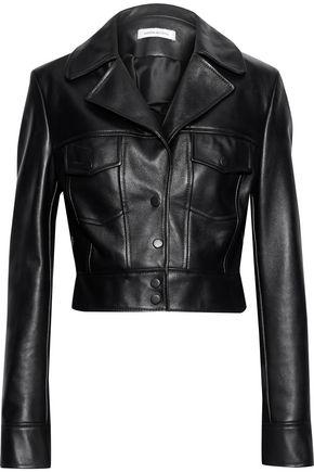 MAGDA BUTRYM Baltimore cropped leather jacket