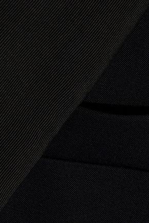 STELLA McCARTNEY Grosgrain-trimmed wool blazer