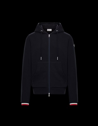 CARDIGAN Dark blue Category ZIP-UP SWEATSHIRTS Man