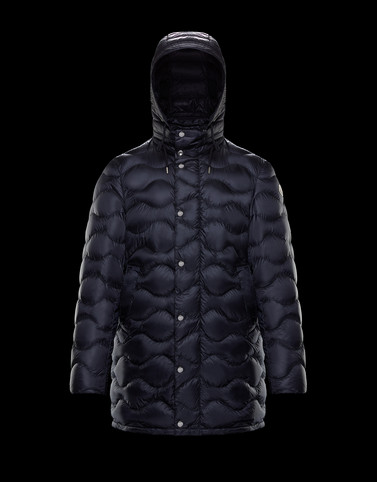 DUBOC Dark blue Down Jackets