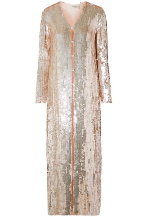 TEMPERLEY LONDON Embellished crepe jacket
