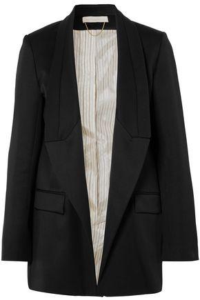 VANESSA BRUNO Wool-gabardine blazer