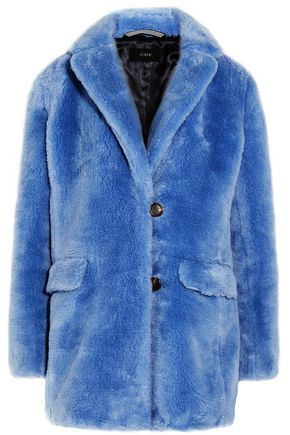 J.CREW Faux fur coat