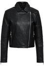J BRAND Textured-leather biker jacket