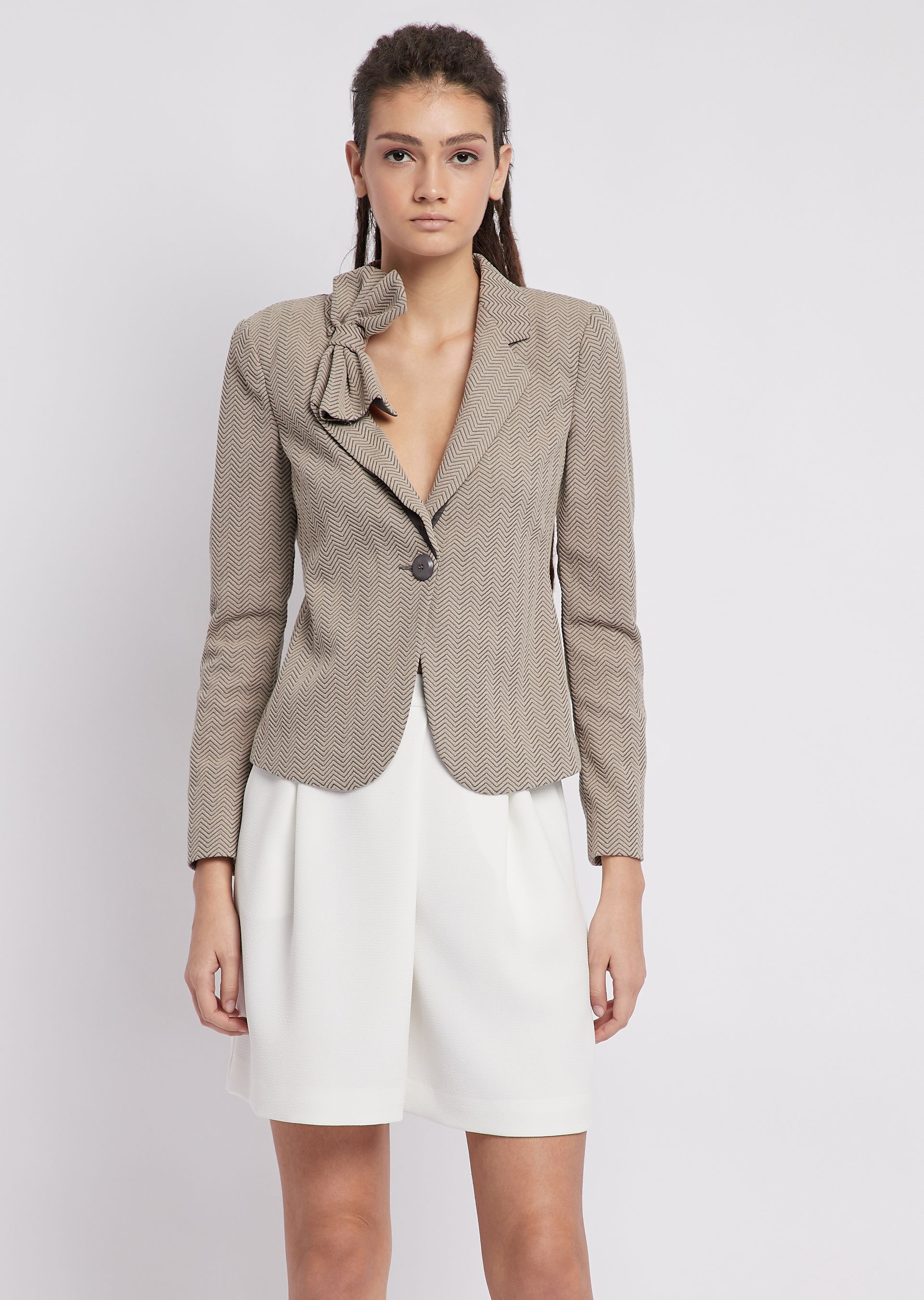 Fashion Jackets - Item 41860915 in Gray from ARMANI.COM