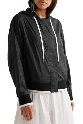 DKNY Shell hooded jacket
