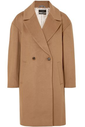 J.CREW Double-breasted wool-blend felt coat