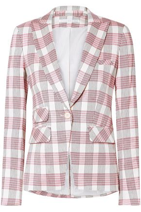VERONICA BEARD Checked woven blazer