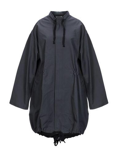 Фото - Легкое пальто свинцово-серого цвета