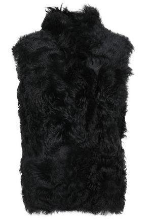 DOM GOOR Reversible shearling vest
