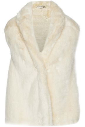 STELLA McCARTNEY Faux fur wrap