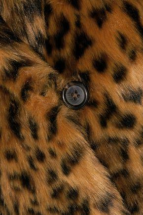 J.CREW Leopard-print faux fur coat