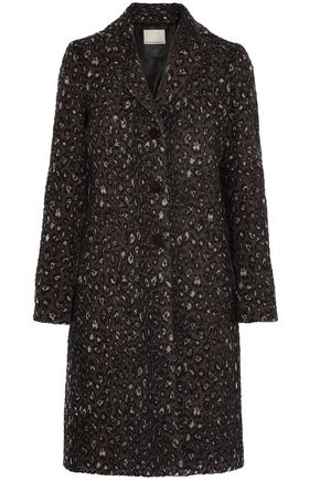 BY MALENE BIRGER Leopard-jacquard coat