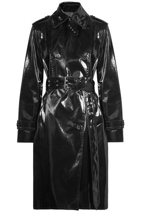 HELMUT LANG Coated cotton-blend trench coat