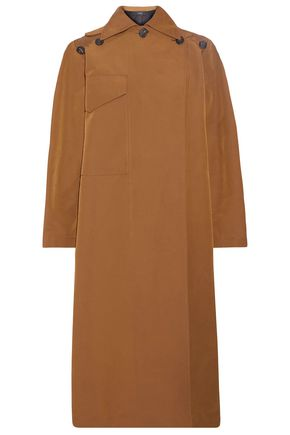 JOSEPH Button-detailed cotton-blend gabardine trench coat