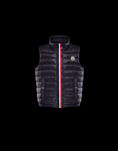 Moncler Kids 4-6 Years - Boy Man: BLAVET