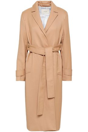 MAJE Gumpy pleated gabardine coat