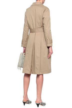 MAJE Gump cotton-gabardine trench coat