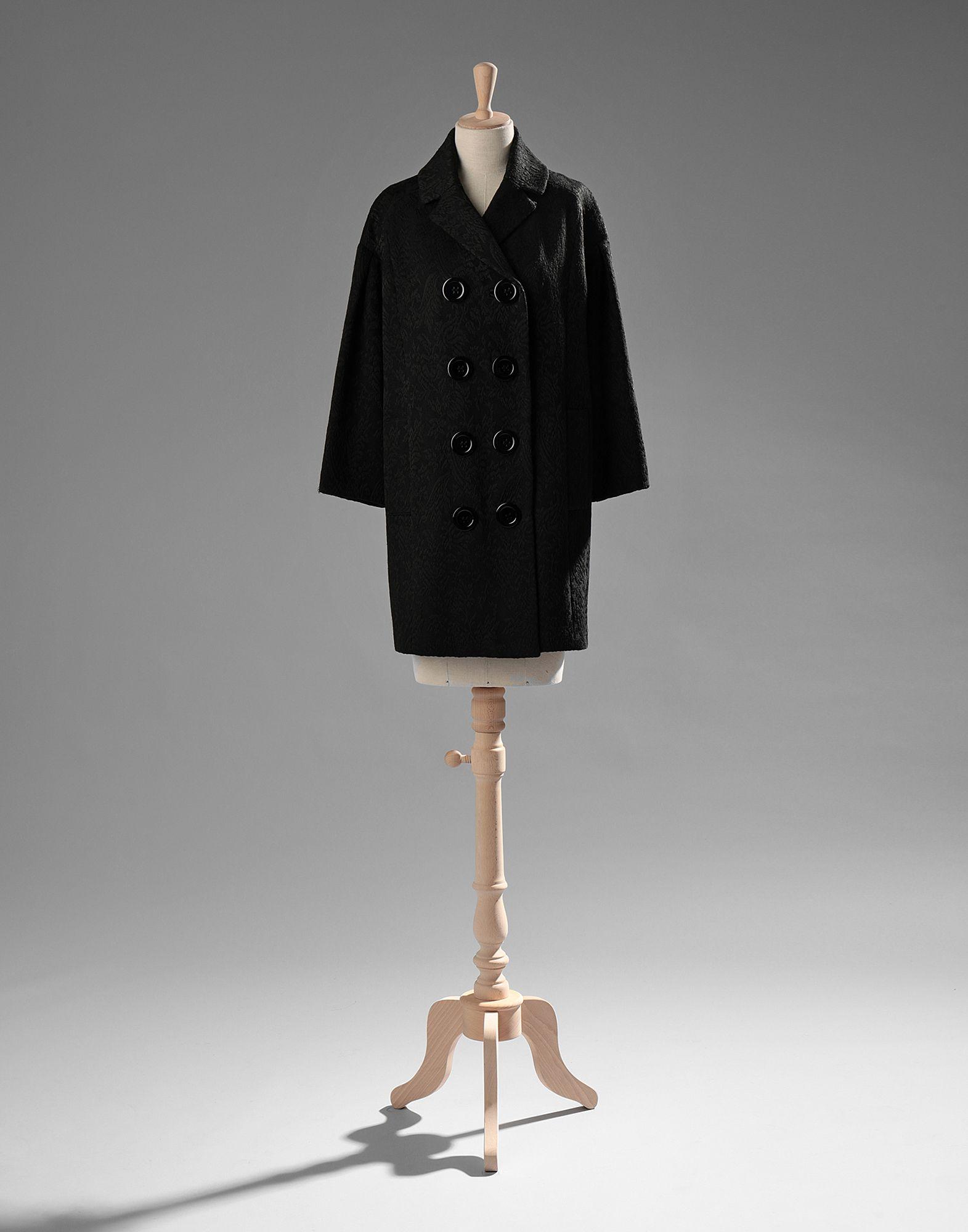 Фото - DOLCE & GABBANA Пальто contact s brand luxury handbags women bags designer genuine leather crossbody bag for messenger female shoulder