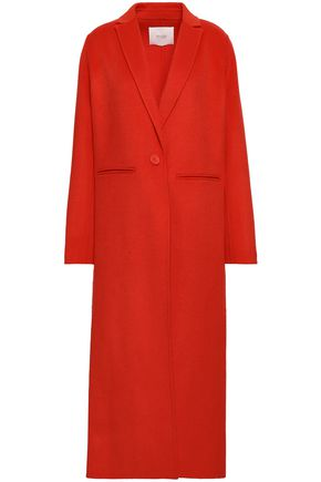 MAJE Galaxia wool-blend felt coat