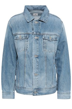 AG JEANS Faded denim jacket