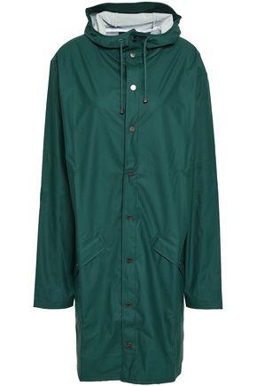 RAINS Coated shell hooded raincoat