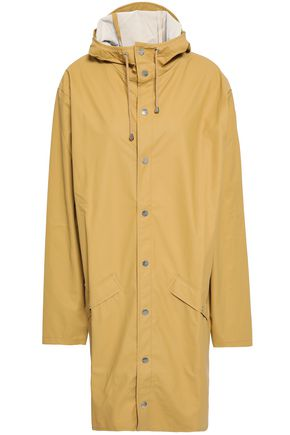 RAINS Coated shell hooded raincoat