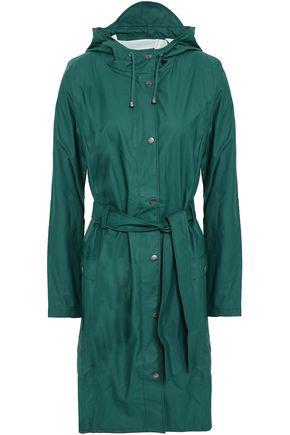 RAINS Coated PVC hooded jacket