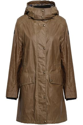BELSTAFF Coated-cotton hooded raincoat