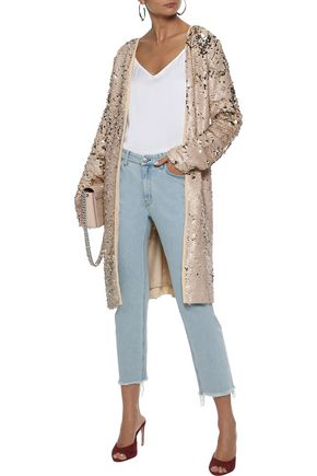 WE ARE LEONE Sequined woven jacket