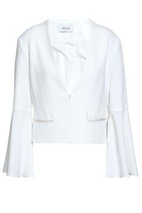 DEREK LAM 10 CROSBY Cropped crepe blazer