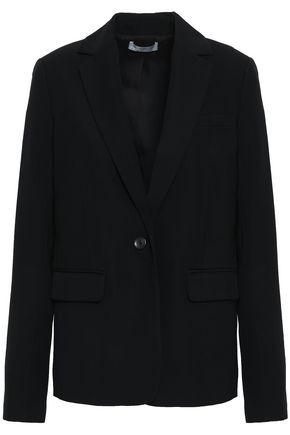 VINCE. Stretch-crepe blazer