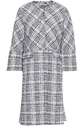 ROSETTA GETTY Cotton-blend tweed coat